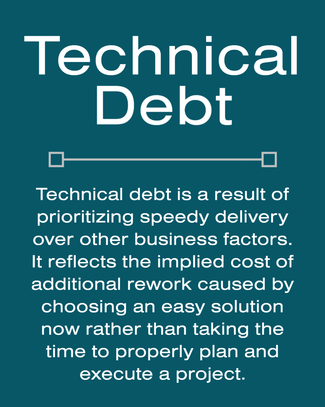 Reduce Your Technical Debt